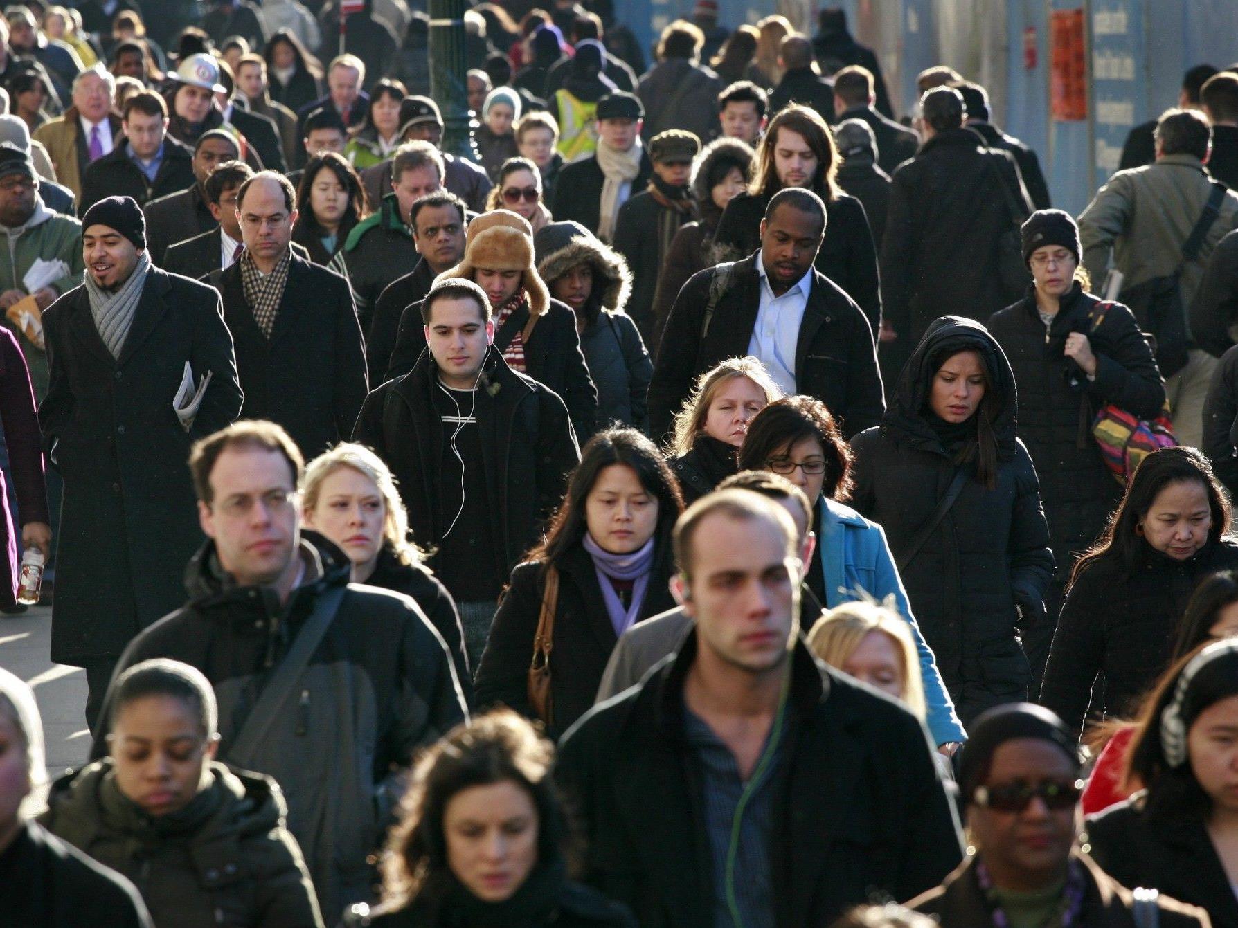 Weiße Bevölkerung 2043 nicht mehr in der Mehrheit.