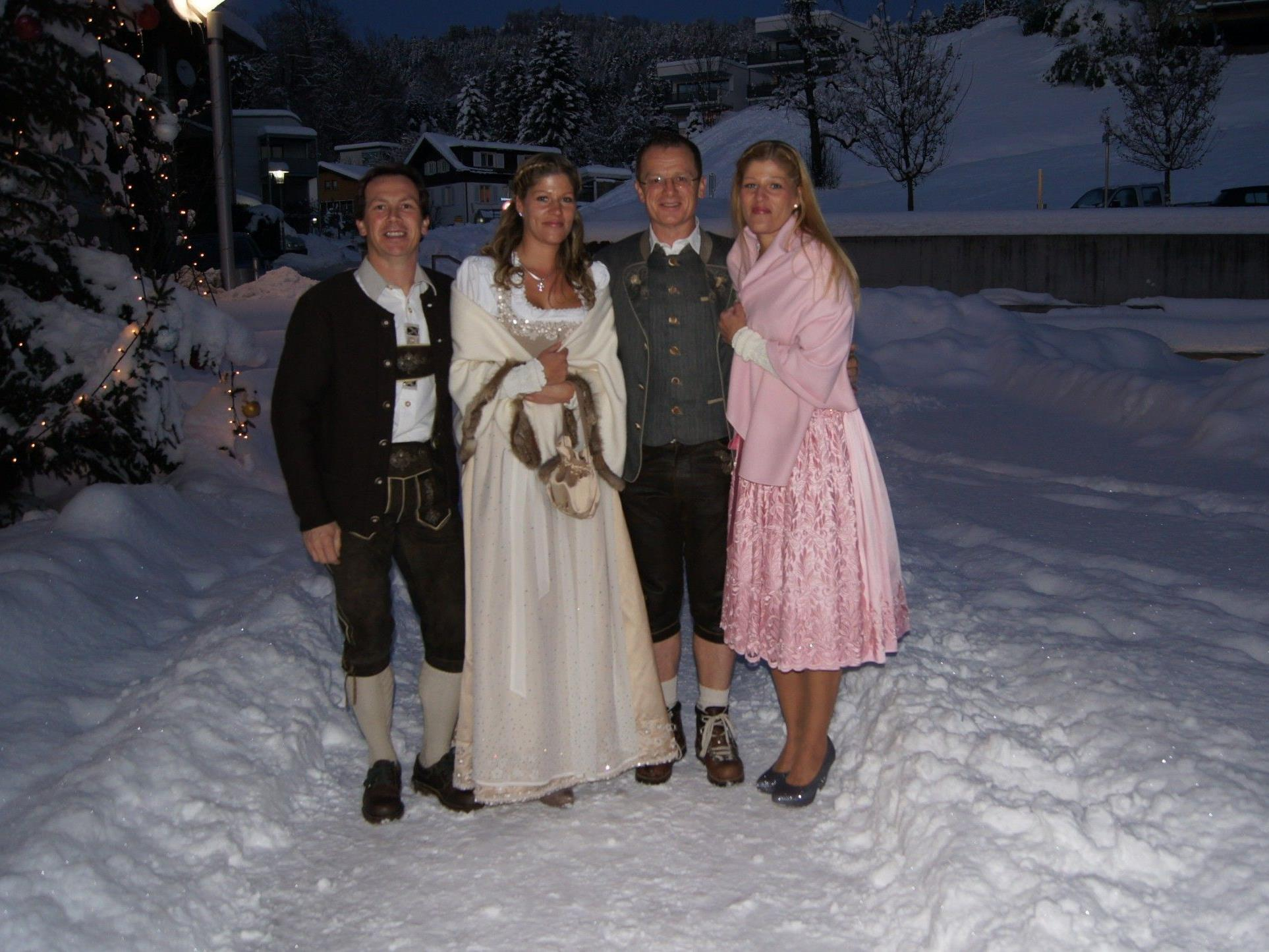 Hochzeit in weihnachtlicher Kulisse am 12. 12. 12