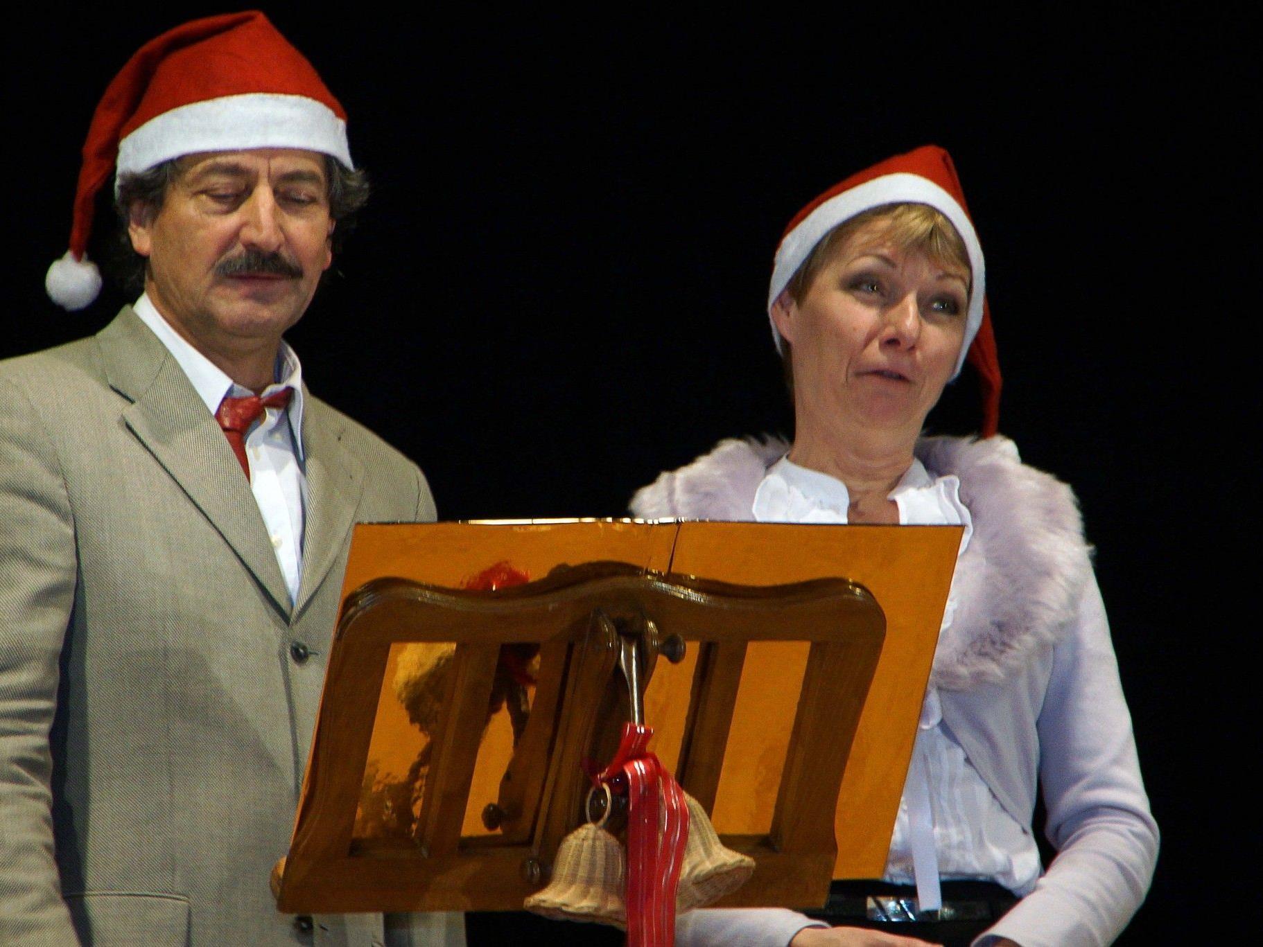 Heiter – Besinnliches rund um Weihnachten mit Alfons Noventa und Christine Aichberger.
