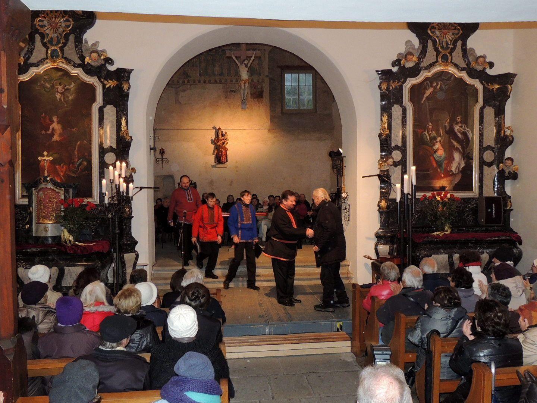 Mag. Gunnar Breuer begrüßte im Namen der Stadt Bregenz die russischen Sänger