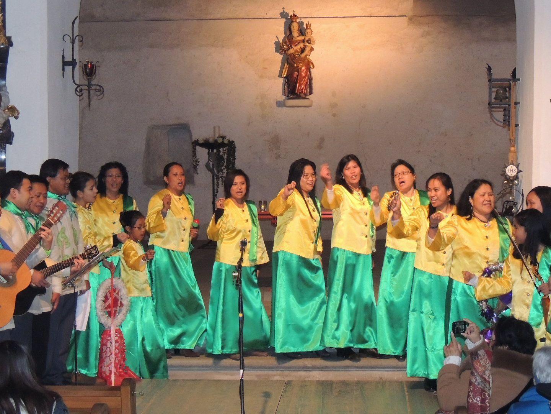 Lieder und Tänze als Ausdruck der philippinischen  Weihnacht