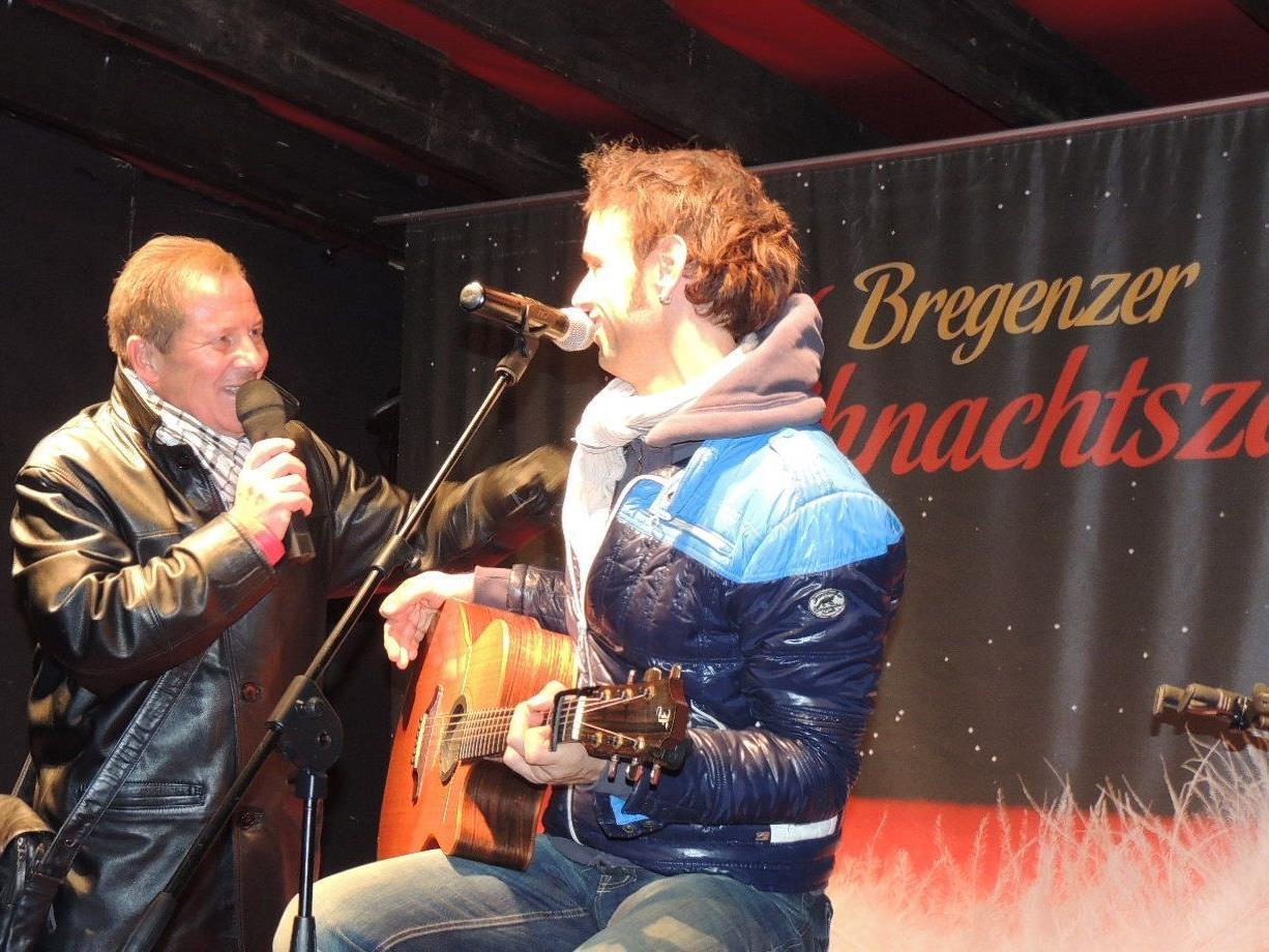 Roberto Kalin präsentierte überraschend  Wolfgang Frank beim Weihnachtszauber