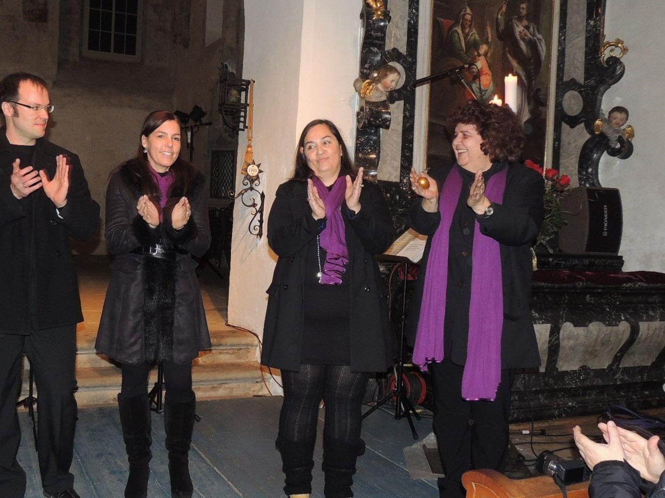 Rhythmische Gospels in der Martinskapelle