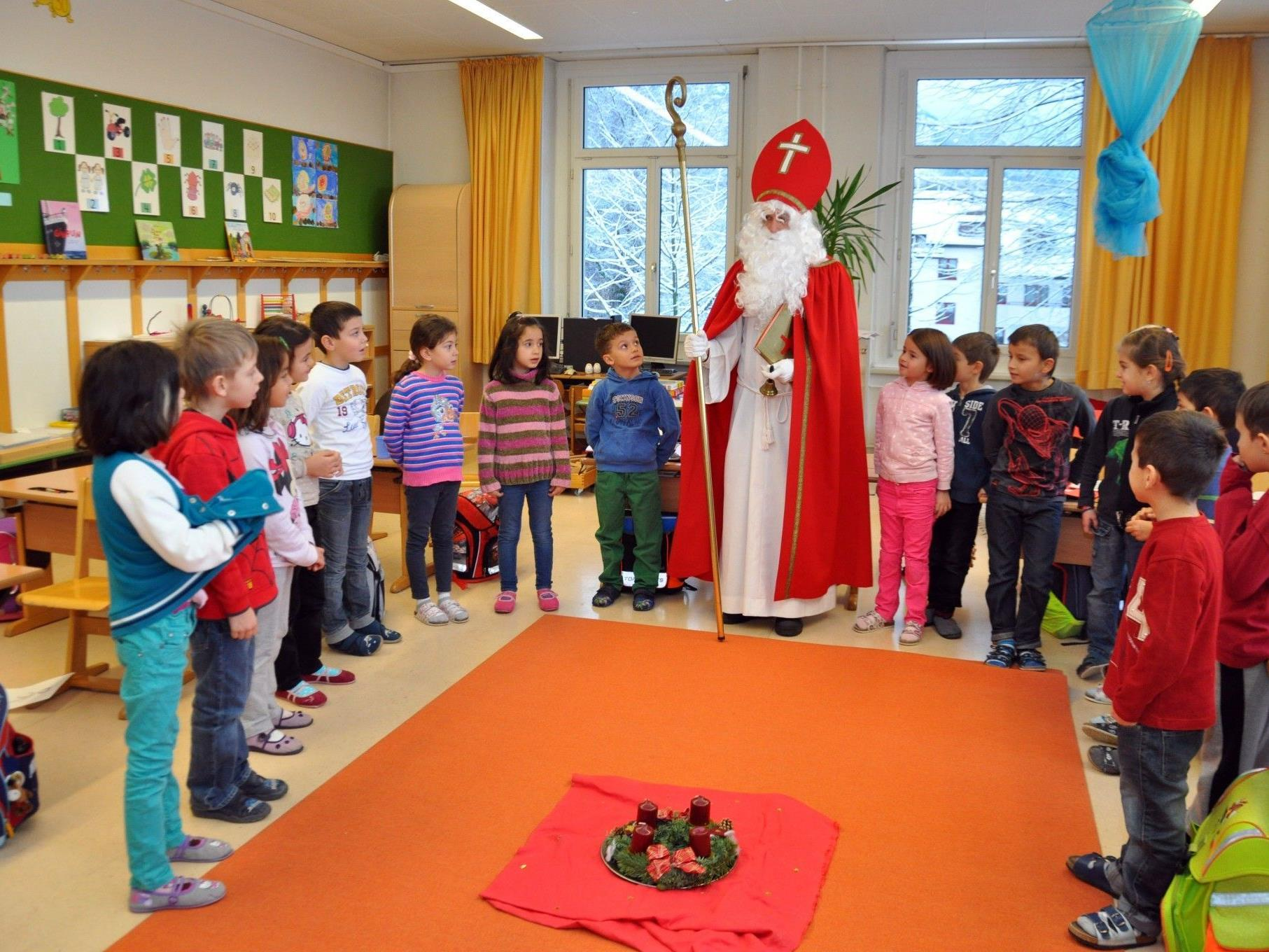 Der Nikolaus war letzte Woche im Dauereinsatz.