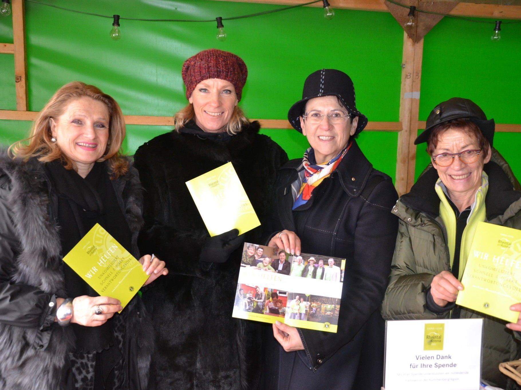 (v.l.) Ingrid Kopf, Doris Köck, Maria Ellensohn-Schmid & Tipsy Ritter