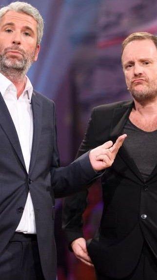 """Stermann und Grissemann bei der ersten Show """"Keine Chance"""""""