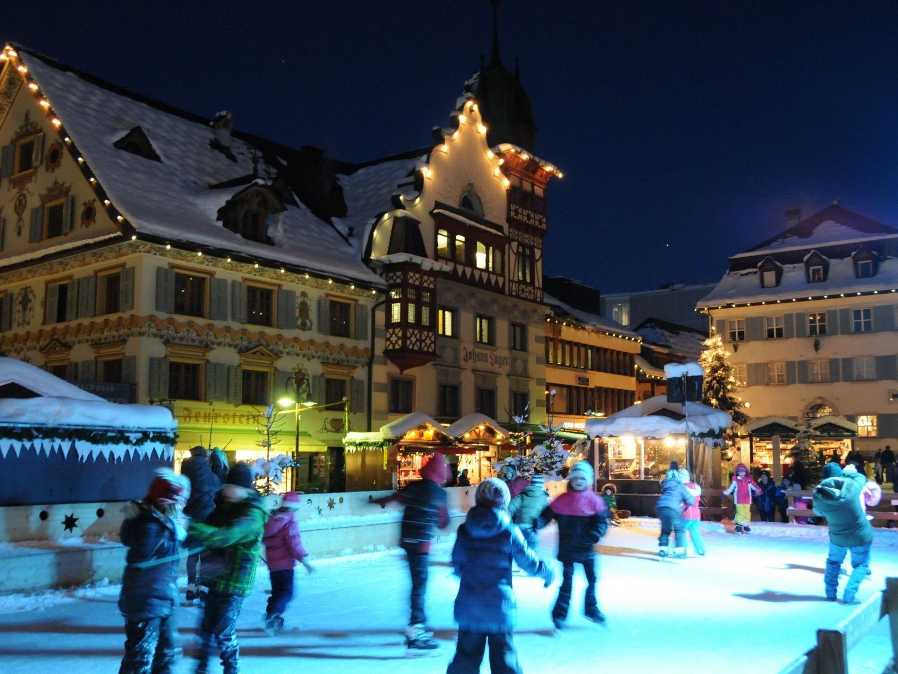 Der Eislaufplatz ist noch bis zum 31. Dezember geöffnet