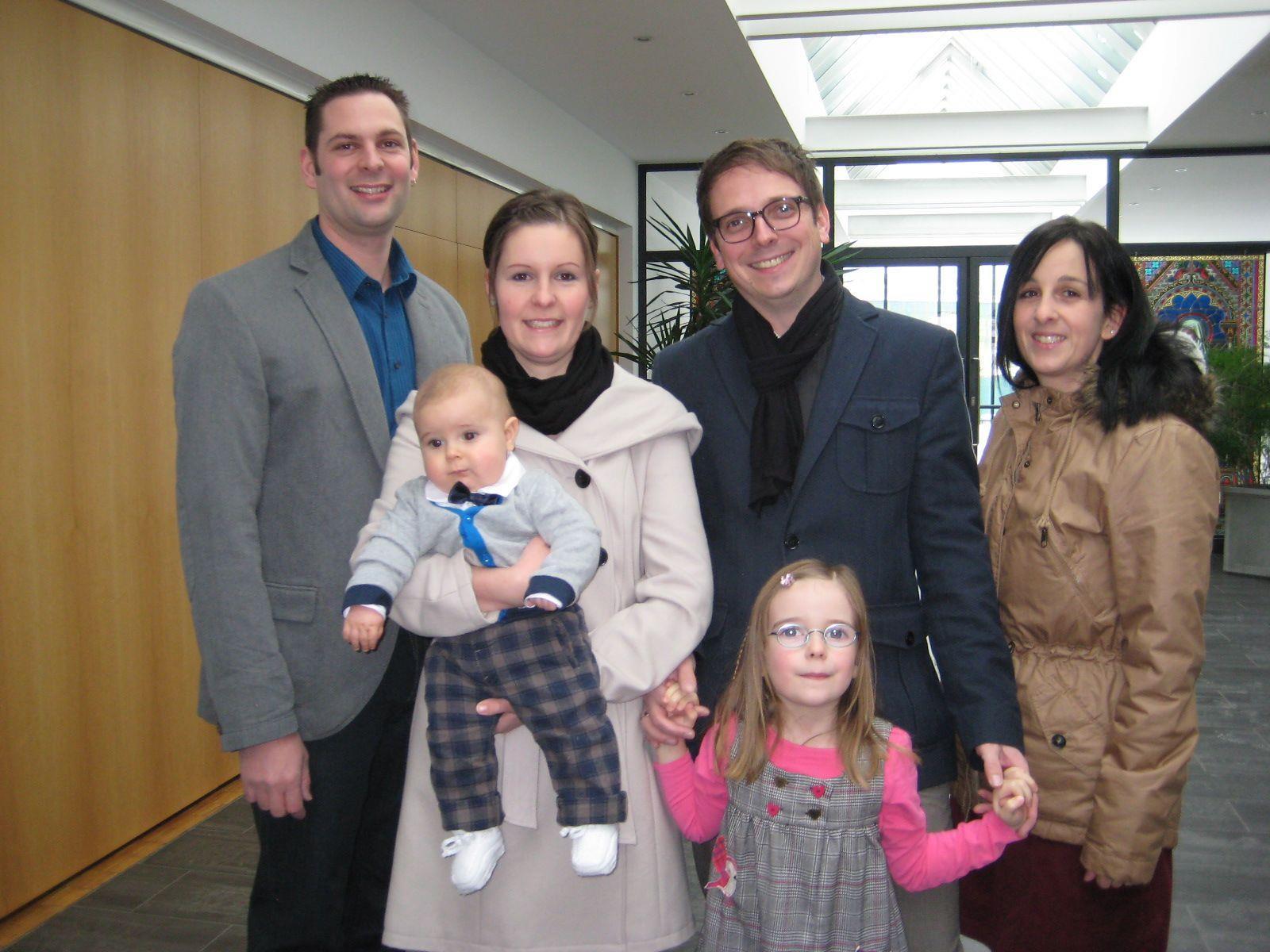 Finn Schwarzenbacher wurde getauft.