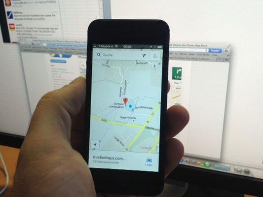 Google Maps ist zurück.