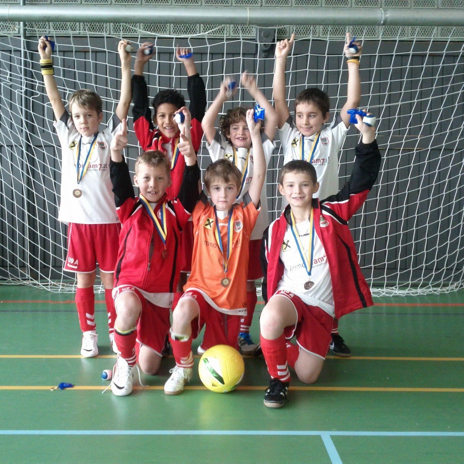 DIe U-9-Mannschaft des FC Dornbirn holte sich in Hohenems den Turniersieg