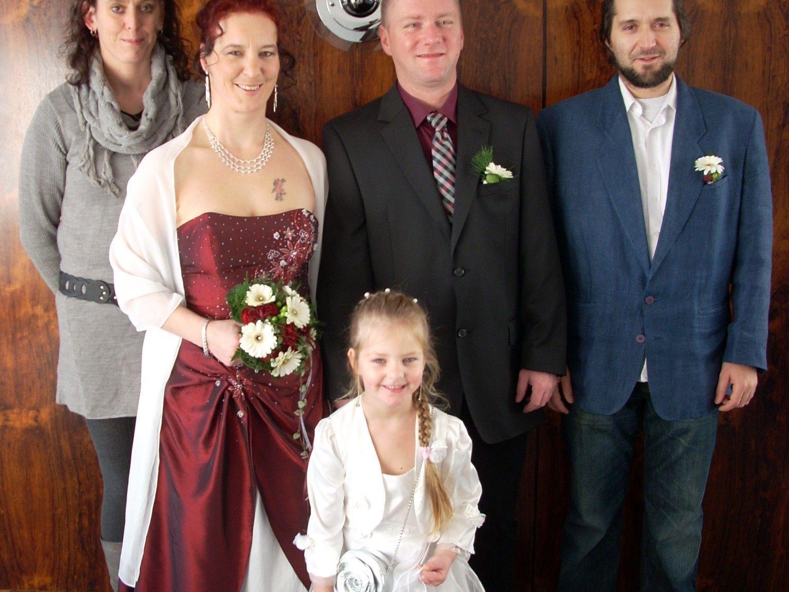 Bianca Makoru und Friedrich Höglhammer haben geheiratet