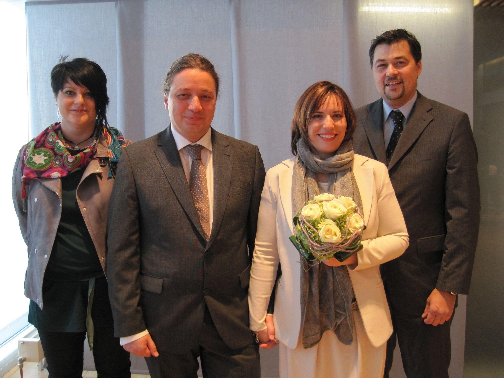 Angelika Feistenauer und Michael Matheisl haben geheiratet