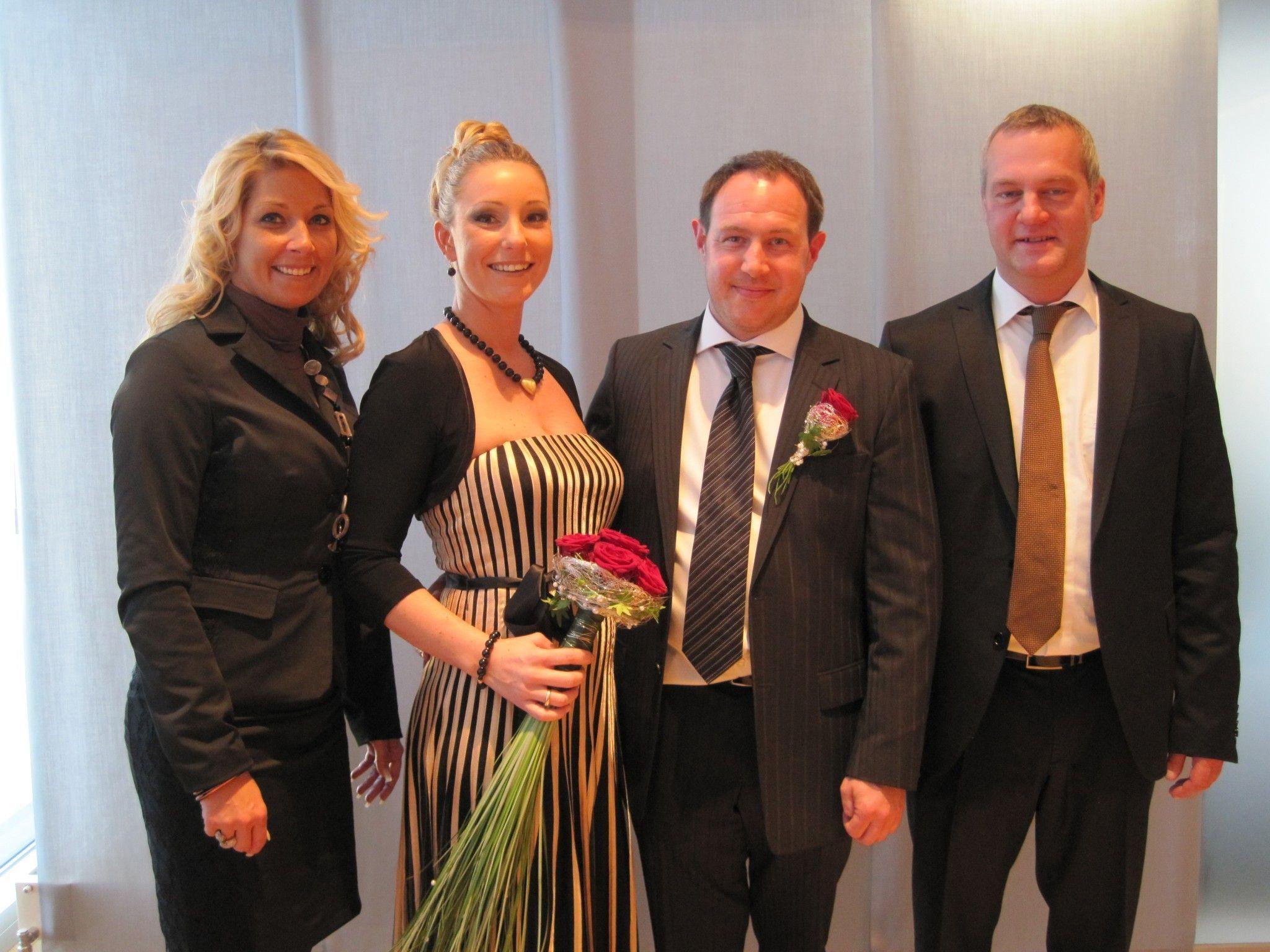 Nadine Roither und Oliver Welte haben geheiratet