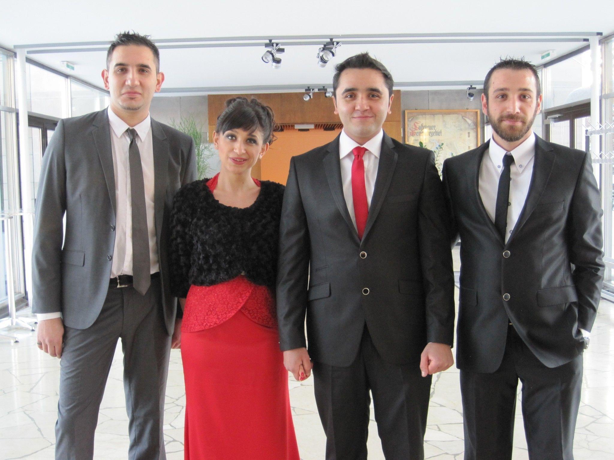 Burcin Salkan und Mustafa Ulus haben geheiratet