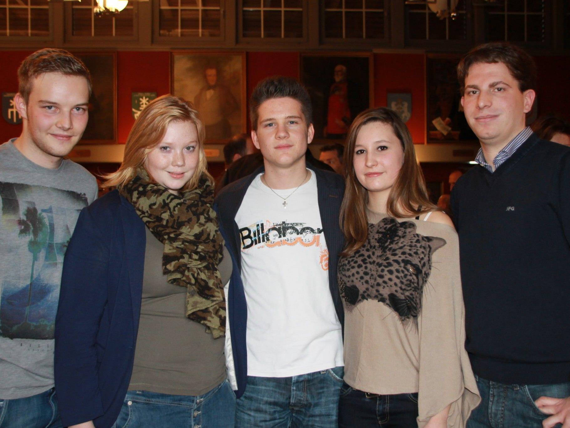 Der Jugendrat Liechtenstein stellte sich im Vaduzer Rathaussaal  vor.