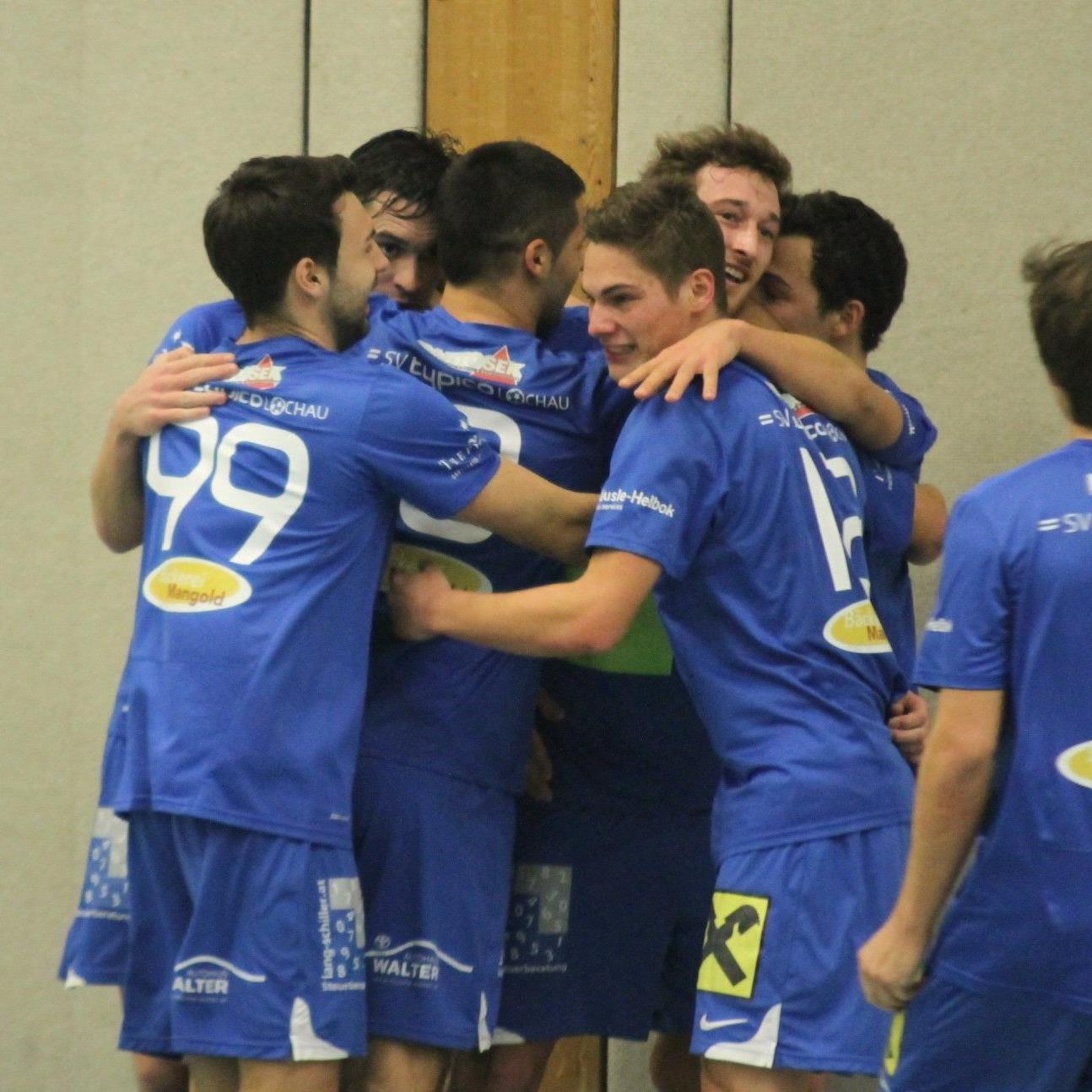 SV Lochau gewinnt die vierte Gruppe im Vorrunden Aufstiegsturnier und spielt weiter in Wolfurt mit.