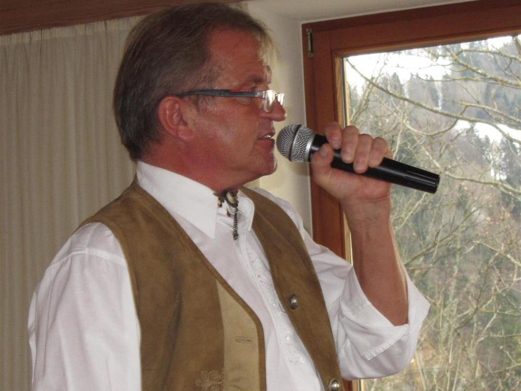 Horst Bayer - der singende Wirt am Oberhaggen in Lochau