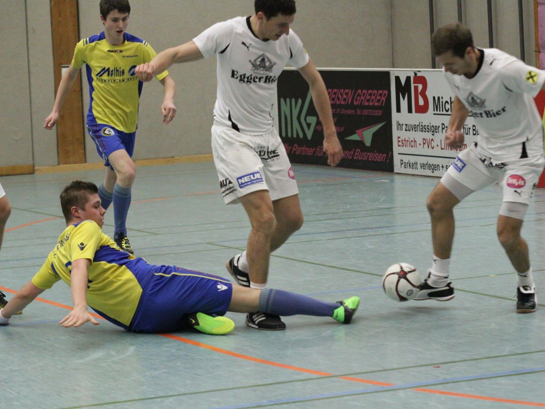 Egg-Spieler Philipp Hagspiel erfüllte mit seinen Teamkollegen die Pflichtaufgabe und kam weiter.