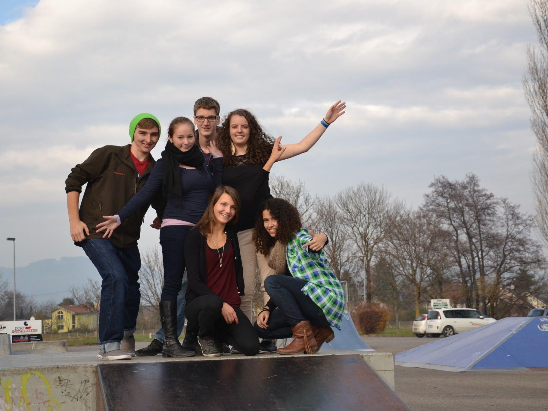 Die Jugendlichen in der Kummenbergregion freuen sich auf den geplanten, neuen Jugendpark im Mösle
