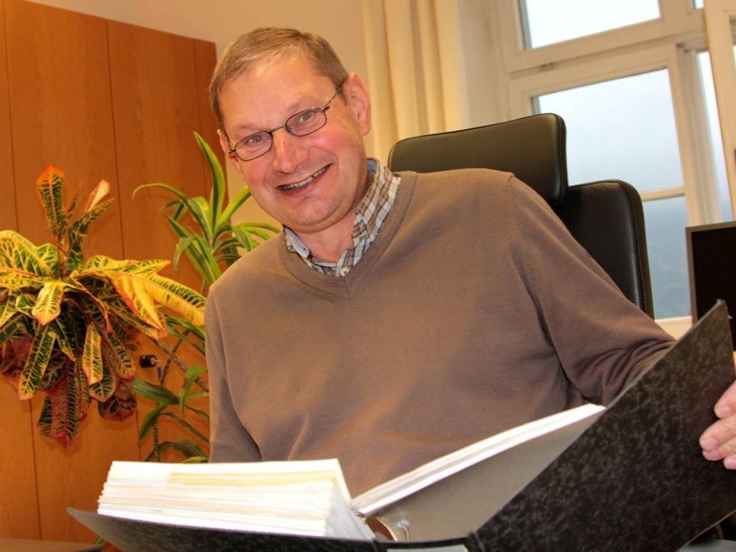 Elmar Gort betreute 43 Jahren lang die finanztechnischen Agenden der Gemeinde Göfis.