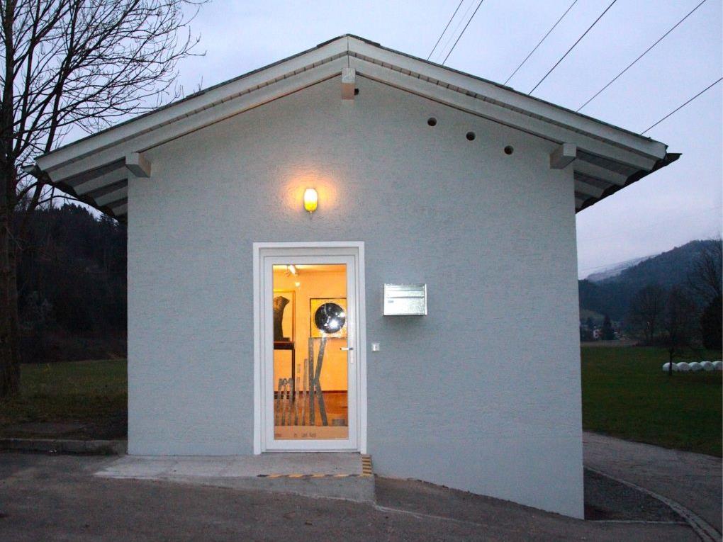 Der kleine Göfner Kunstraum mitten im Land mit genialem