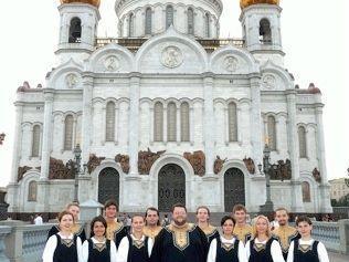 Alle zwei Jahre ist der Pokroff-Chor zu Gast in Nofels