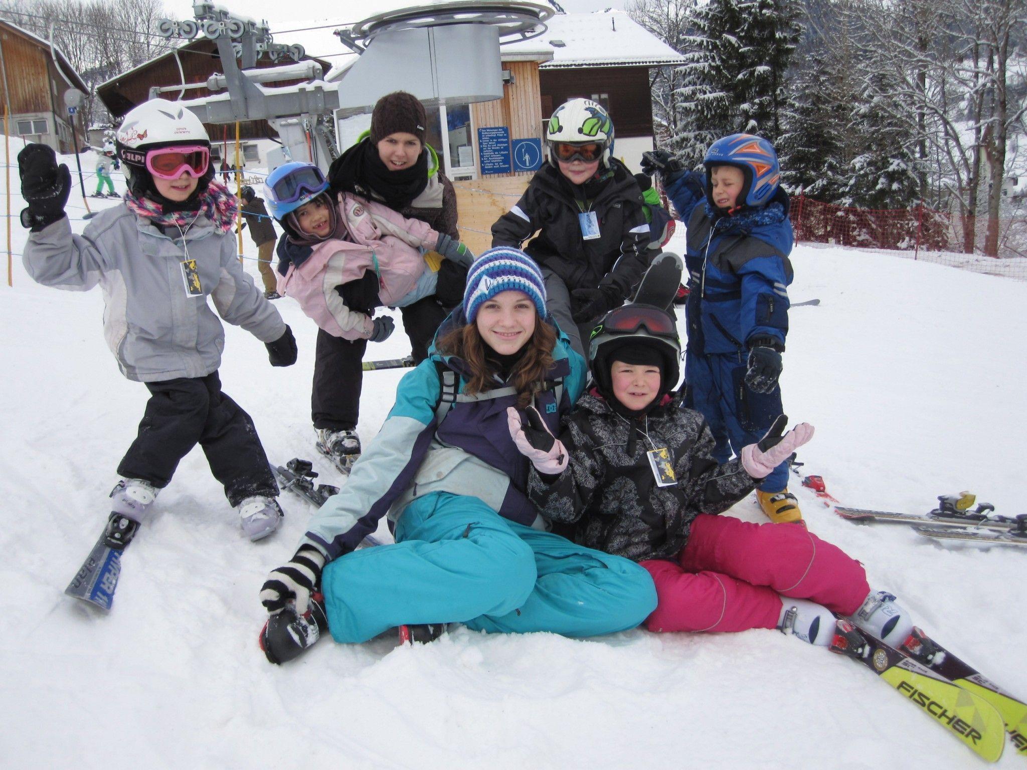 Kinderschi -und Snowboardkurs 2012 des WSV-Ludesch