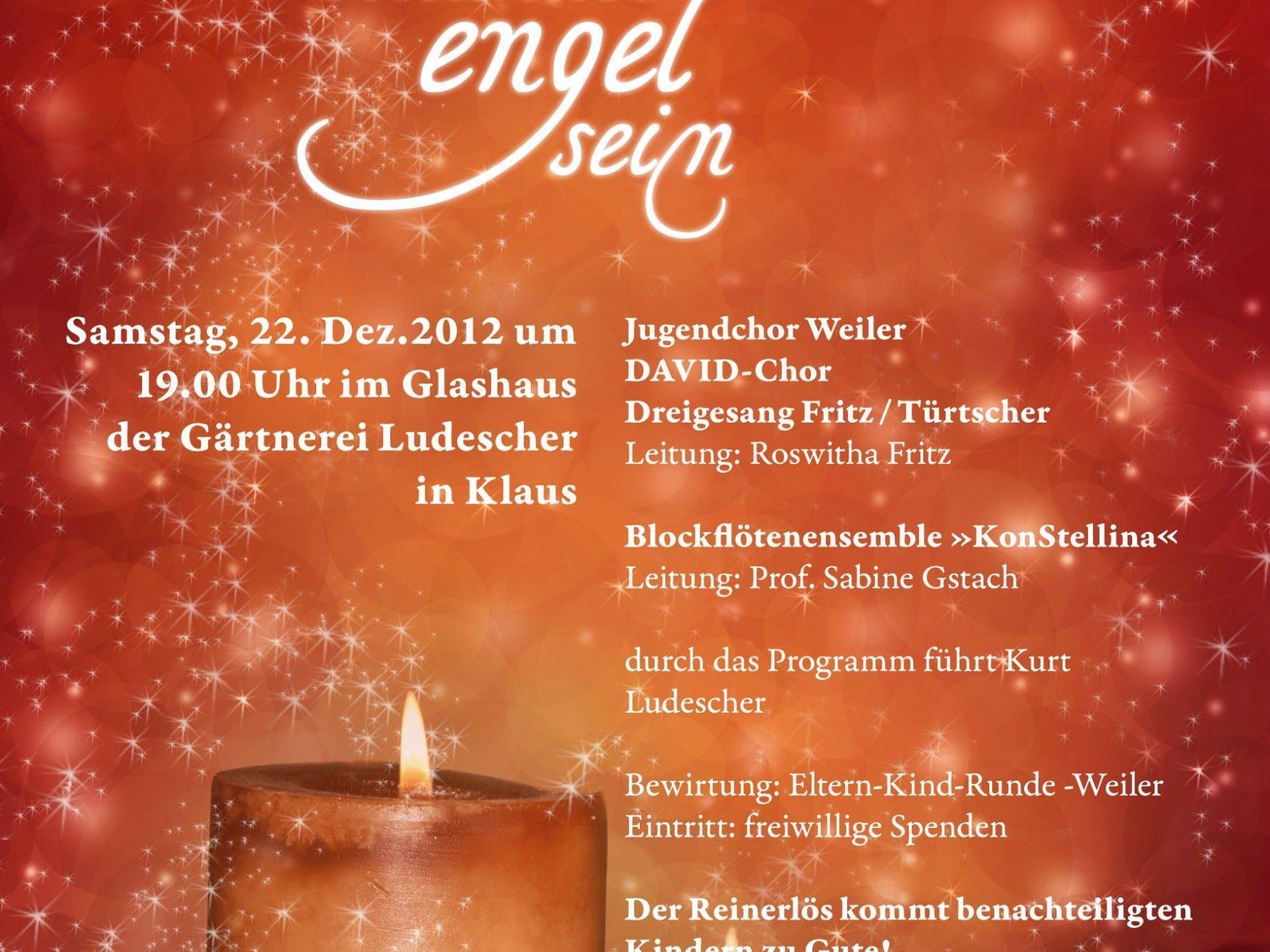 David- und Jugendchor Weiler lädt zu einem ganz besonderen Weihnachtskonzert.