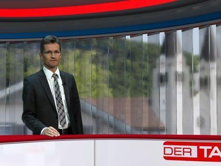 Bernd Klisch zu Gast im Ländle TV - DER TAG Studio
