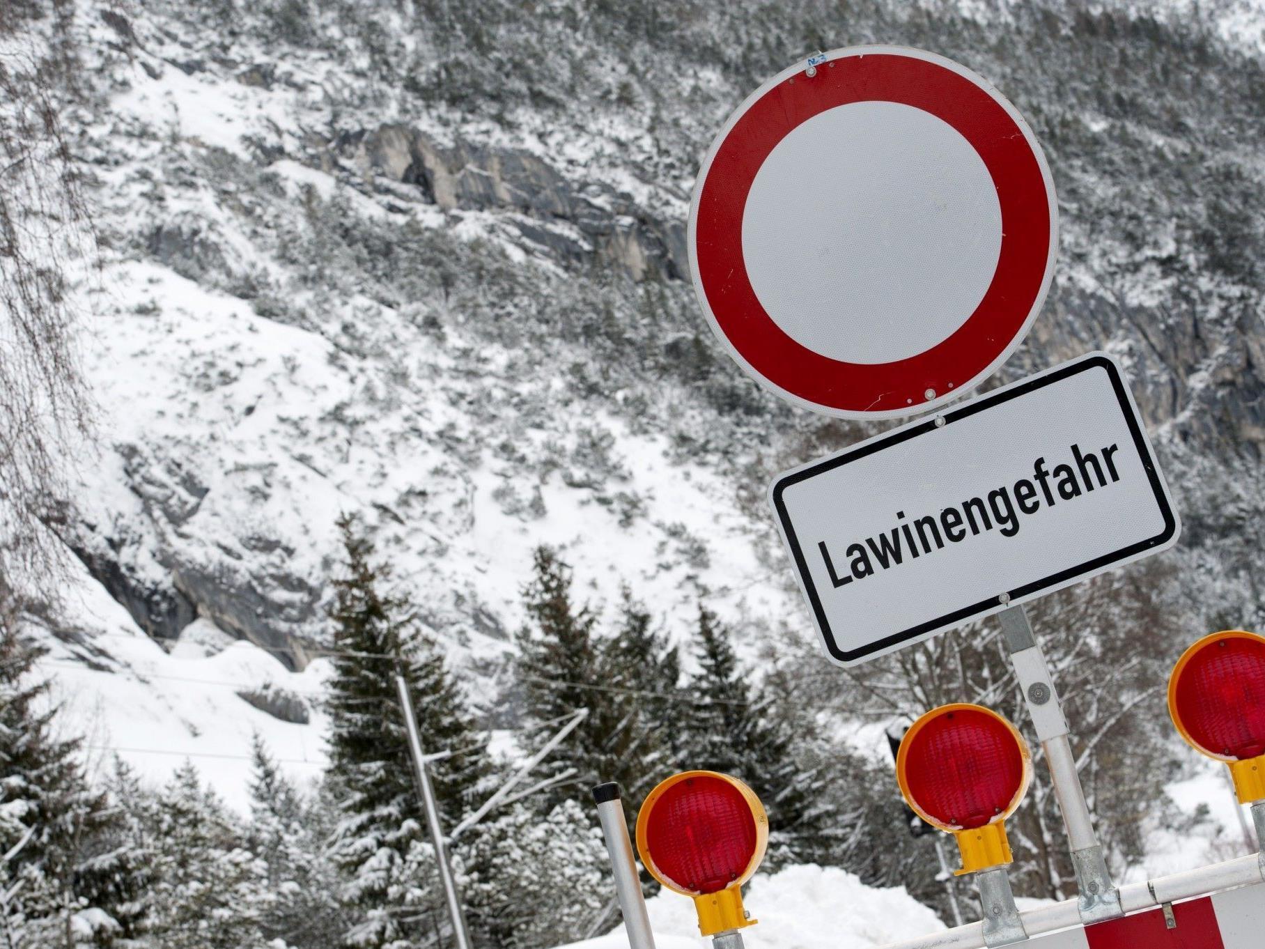 Wintersportlerin konnte rasch geborgen werden.