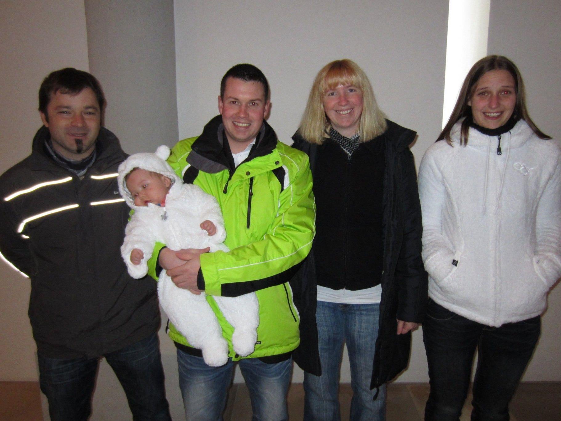 Luca Mitterer wurde getauft.