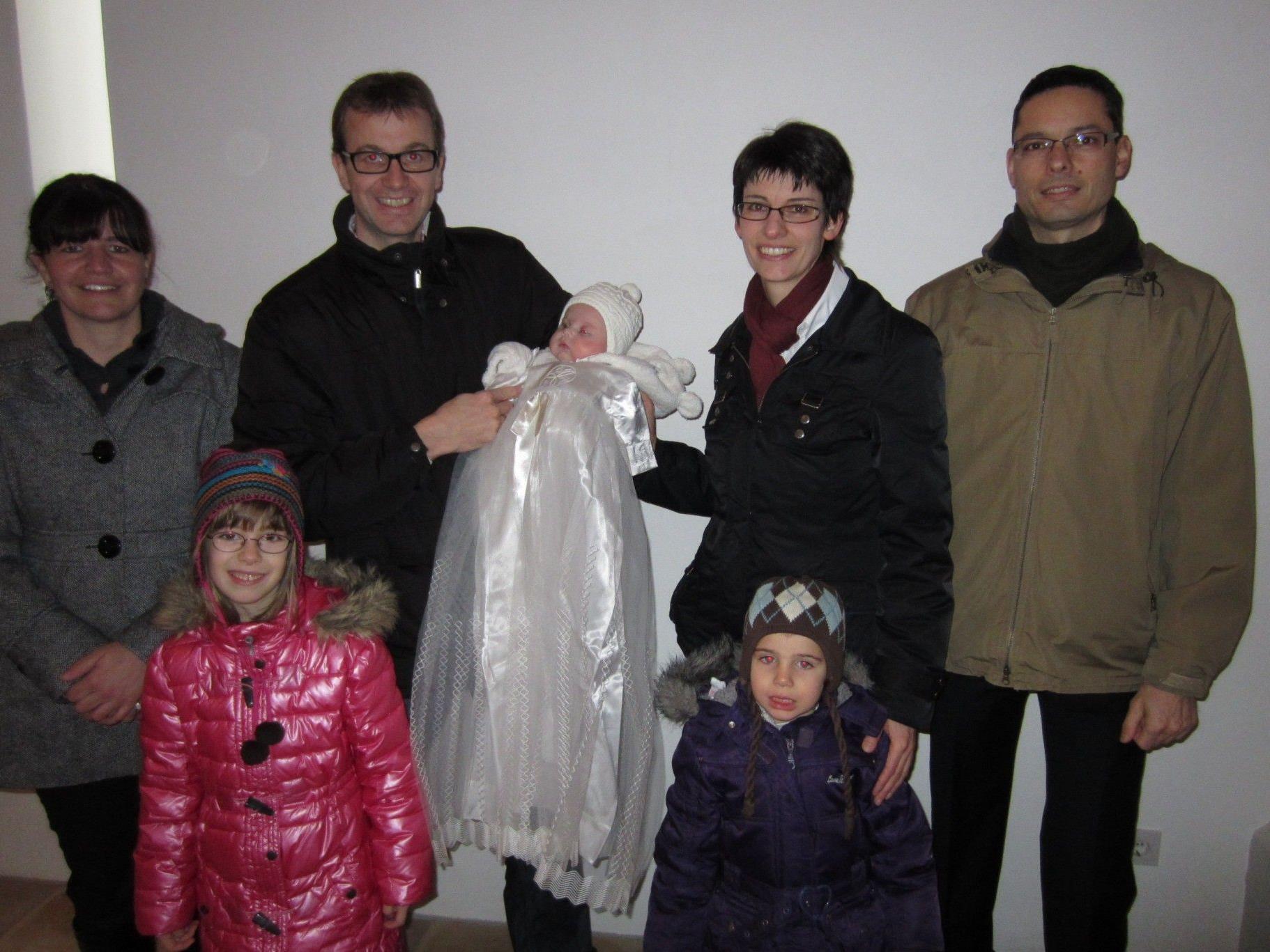 Magdalena Huber wurde getauft.