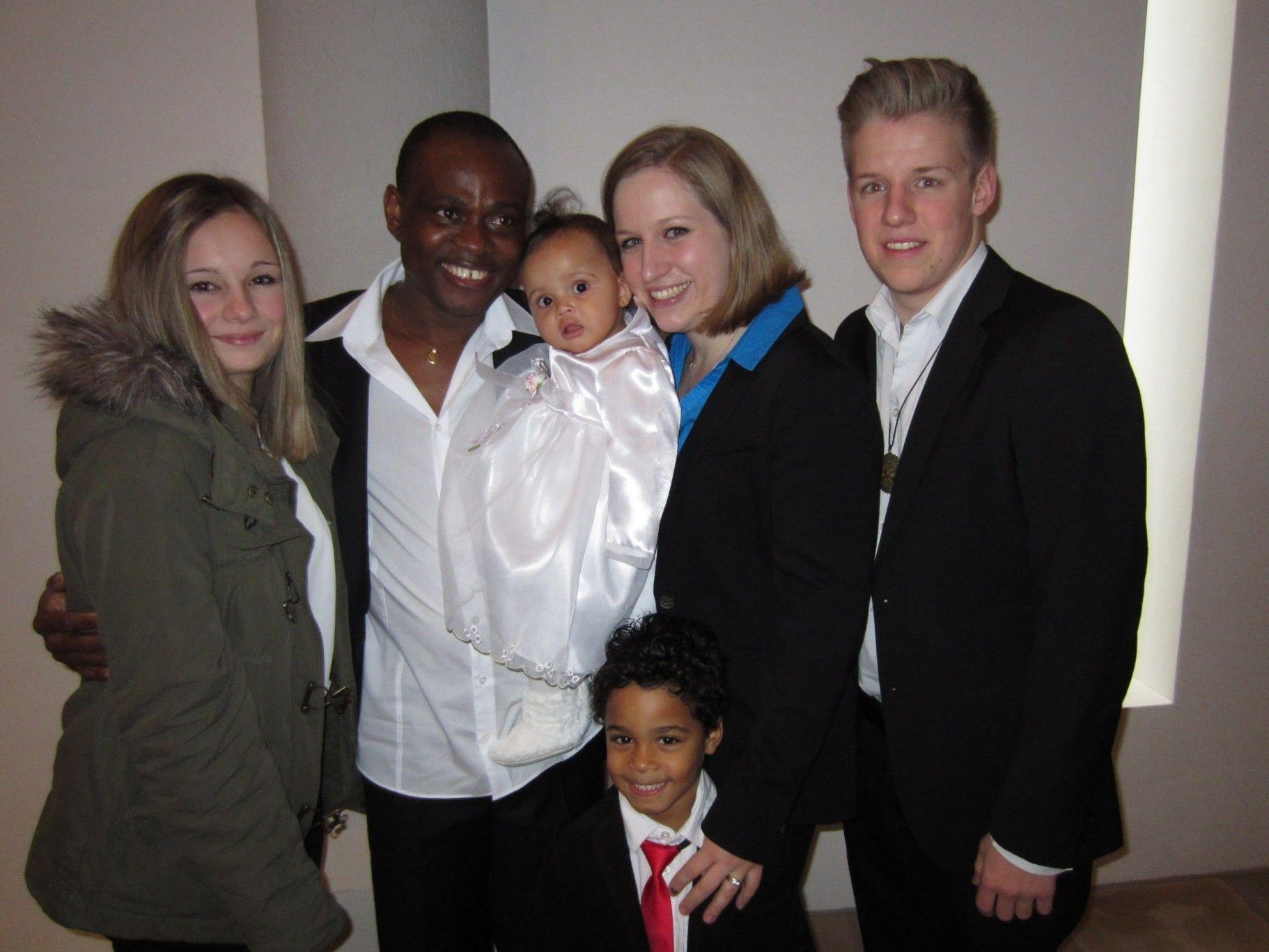 Mia Chisom Stump wurde getauft.