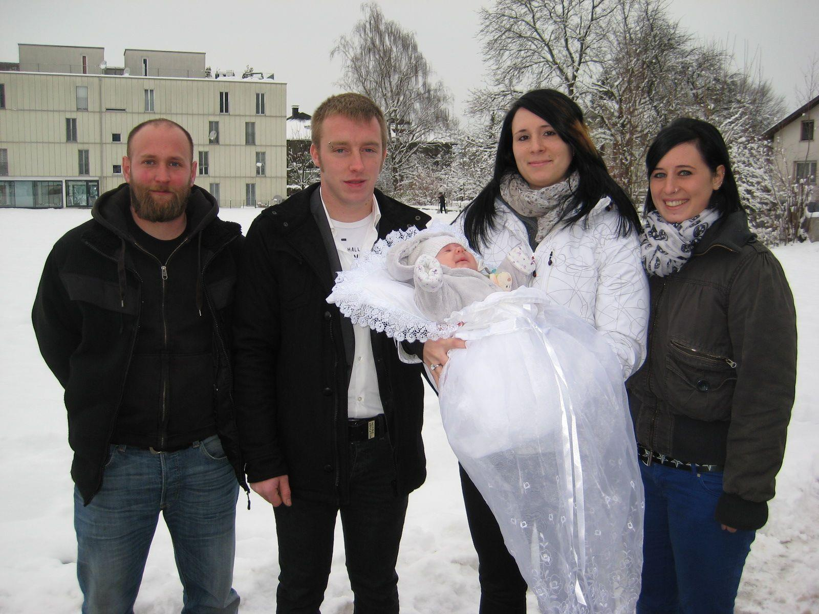 Luisa Schwendinger wurde getauft.