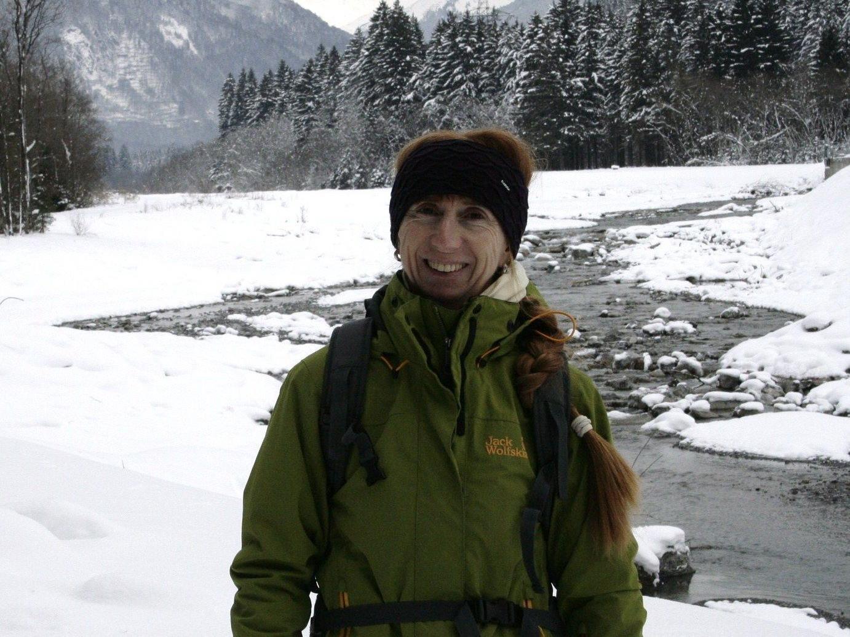 Wanderführerin Waltraud Griesser von der Ortsgruppe Bludenz.
