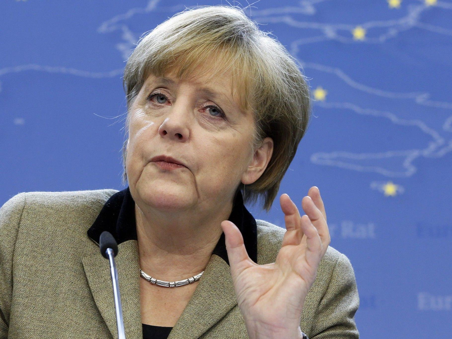 Deutsche Kanzlerin: Wir müssen mit sehr, sehr hoher Arbeitslosigkeit rechnen.