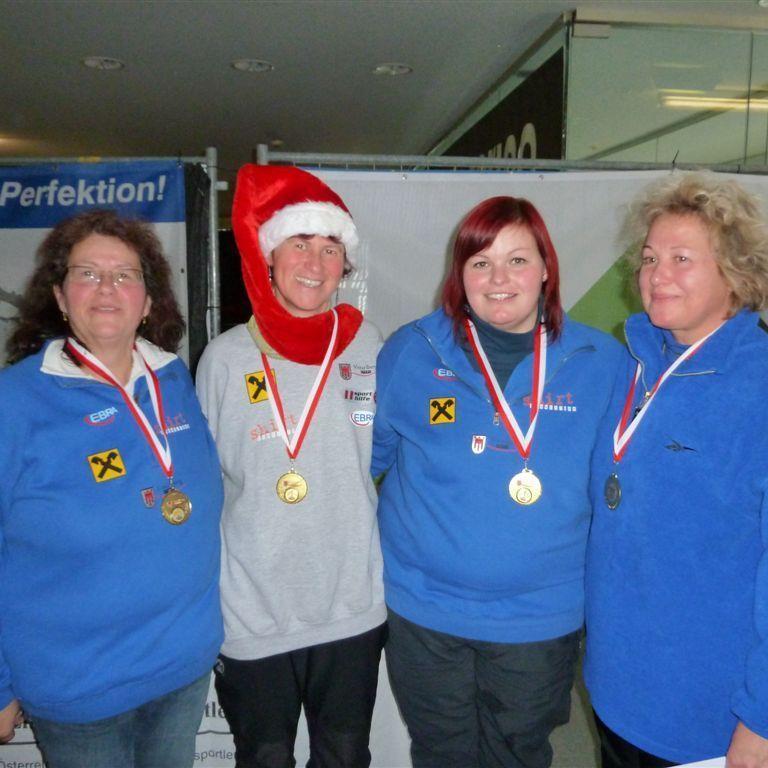 Symbolbild: Die Damen des ESC Bregenz setzten sich in Dornbirn bei den landesweiten Titelkämpfen durch.