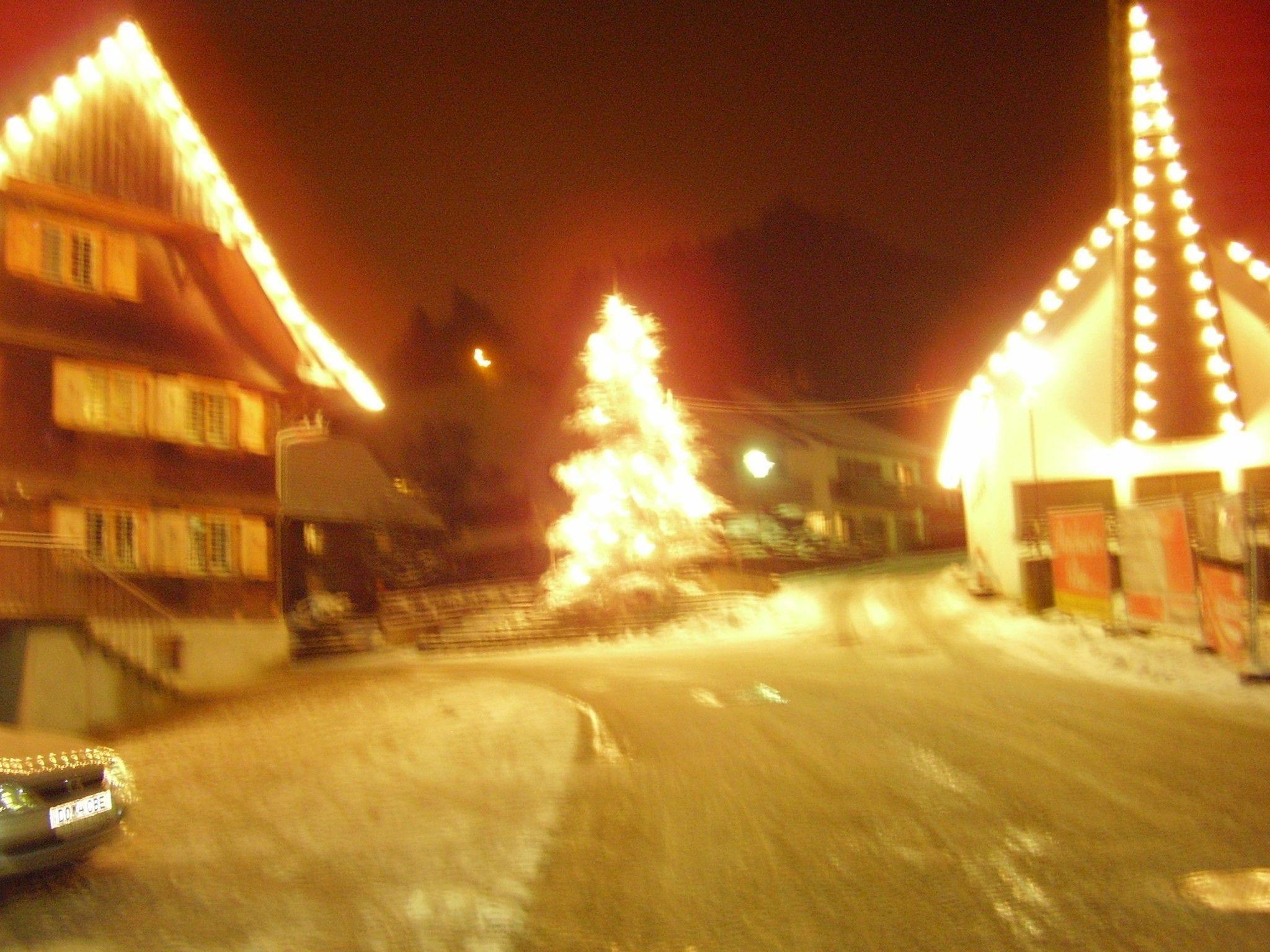 Am Dorfplatz in Mühlebach