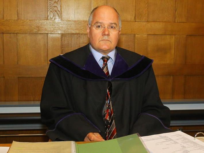 Der Vorsitzende Richter Norbert Melter.