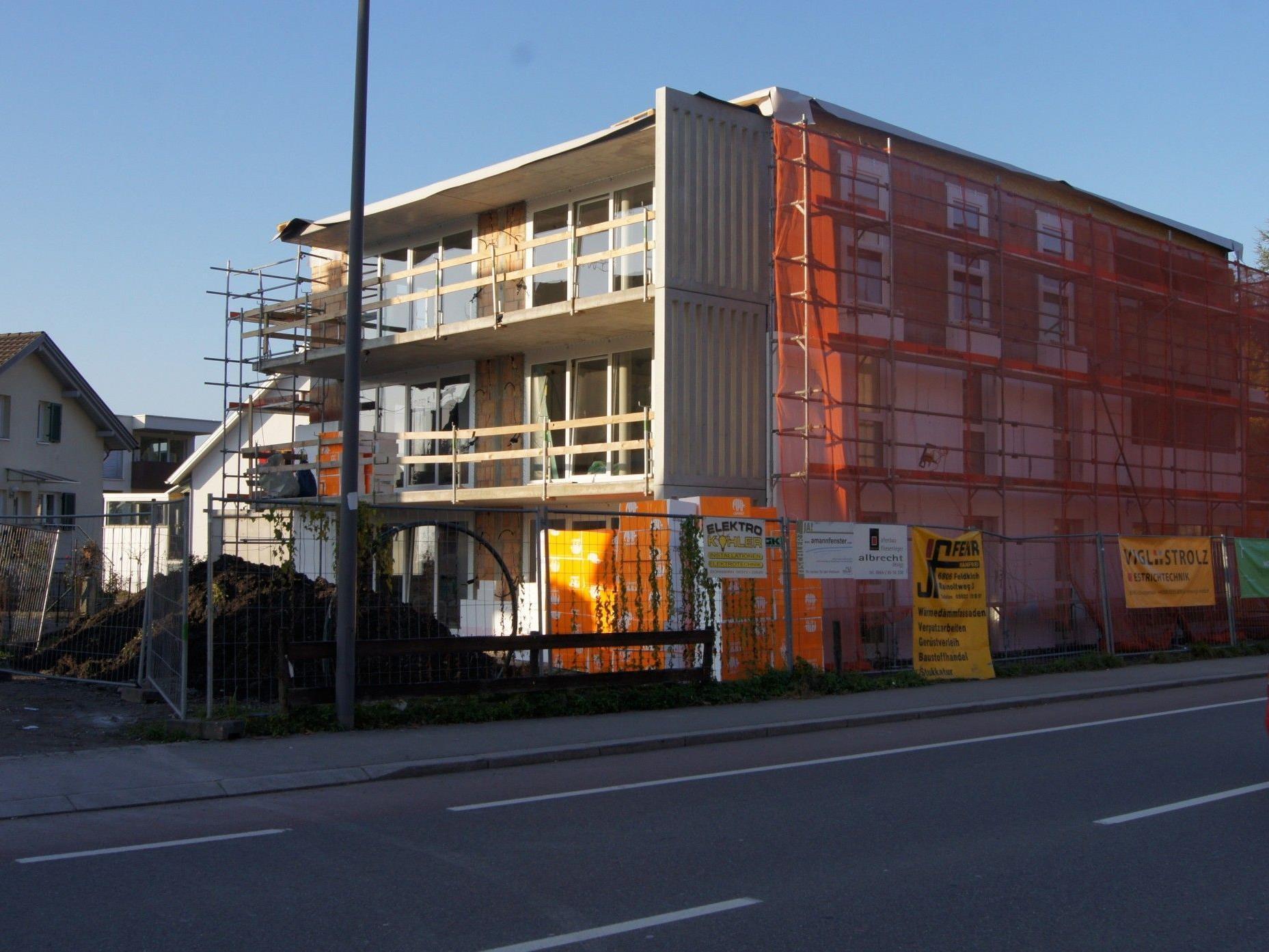 Im April 2013 wird das Wohnprojekt an der Dr.-Anton-Schneider-Straße fertiggestellt sein.
