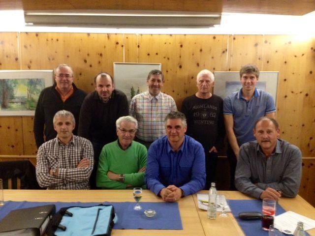 Der Vorstand des Skiclub Brandnertal-Walgau-Walsertal.