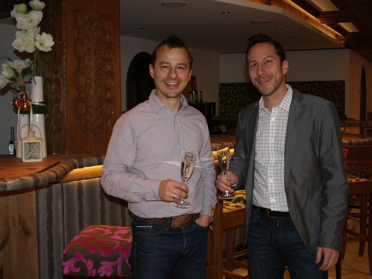Marcel und Roché Bosek leiten das neu eröffnete Alpinressort Schillerkopf.