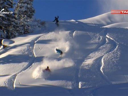 Traumpiste im Skigebiet Brand
