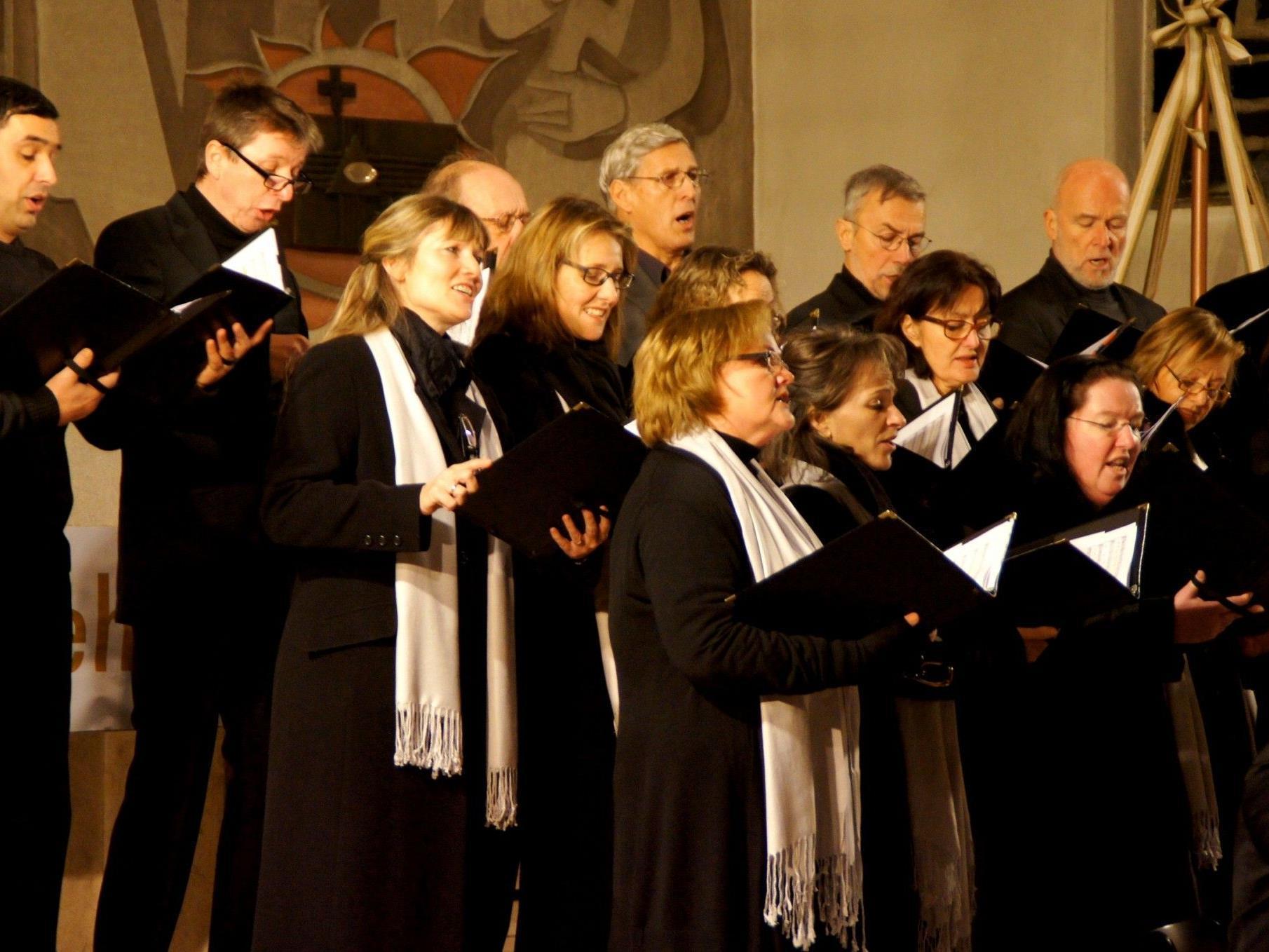 Ensemble Kontrapunkt sang alte Meister beim Adventkonzert
