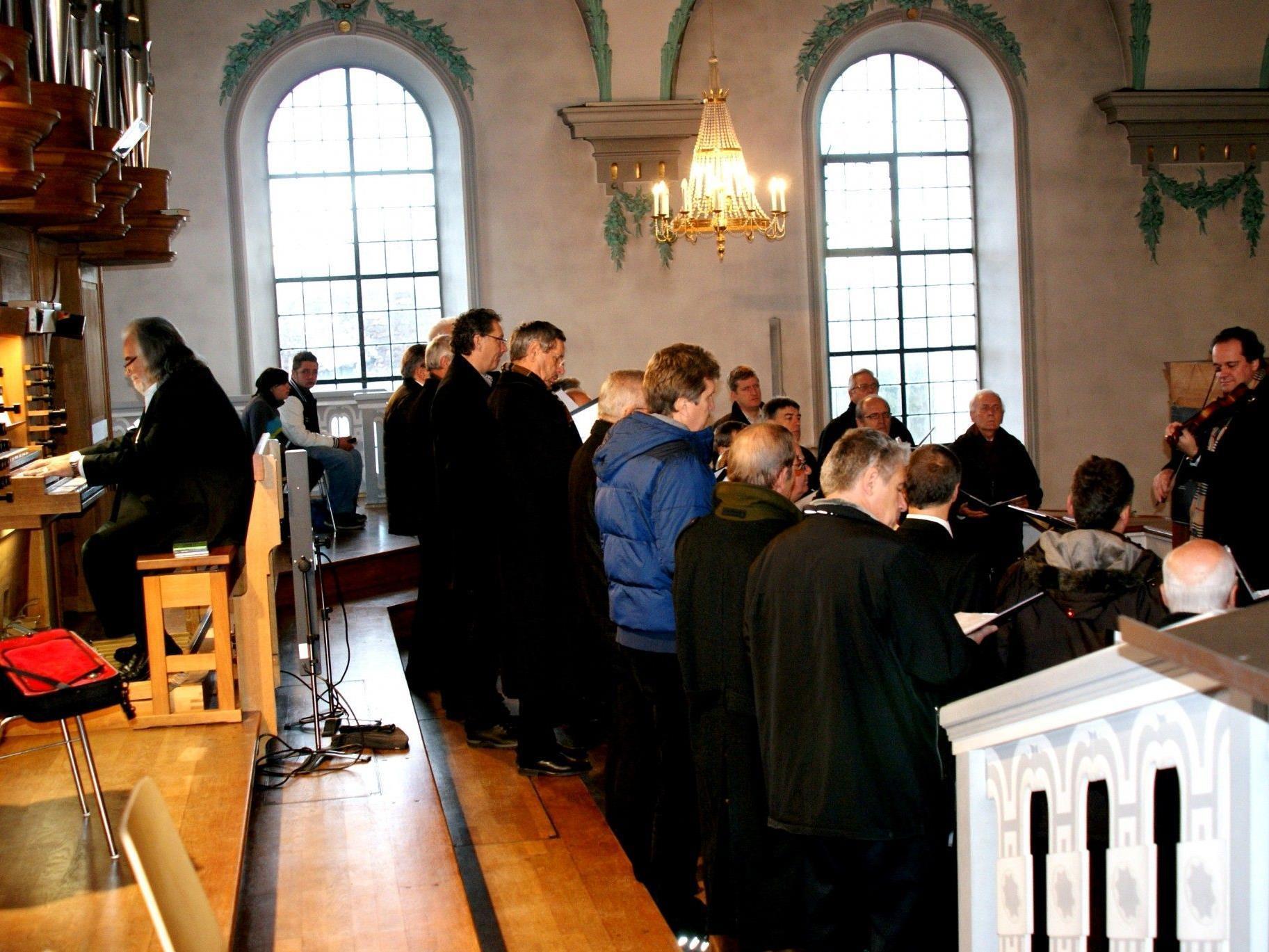 Voller Einsatz bei der Messe für St. Stephan