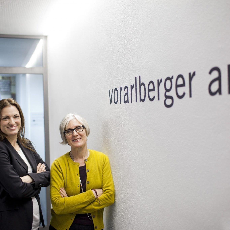 Verena Konrad (l.) und Marina Hämmerle.