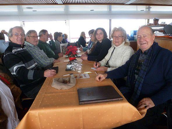 Mitglieder des SR Bregenz/Leiblachtal am Weg nach Konstanz