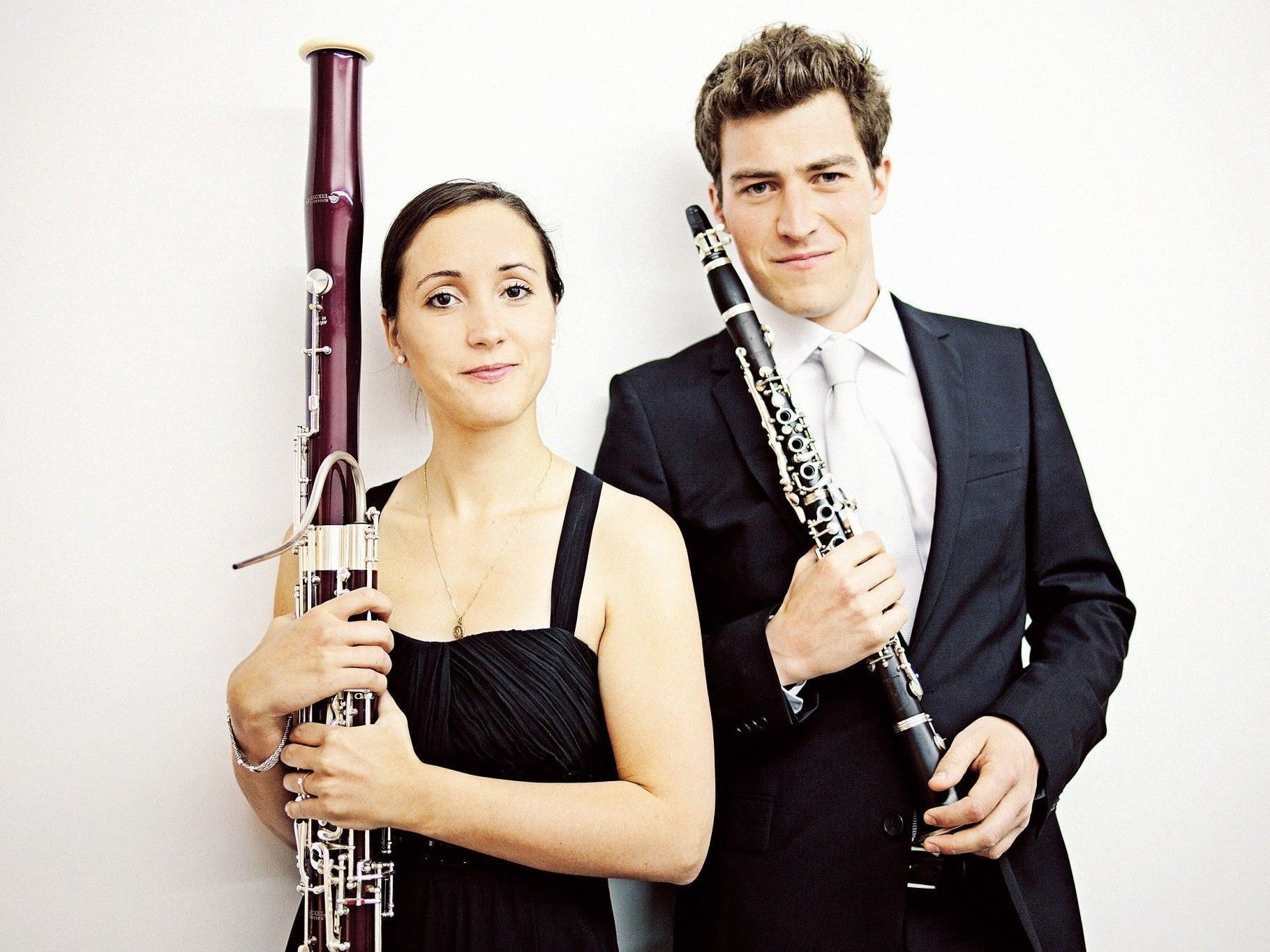Mit Heidrun Wirth-Metzler und Alex Ladstätter sind im Jänner 2013 zwei Solisten aus den eigenen Reihen des Symphonieorchesters Vorarlberg zu hören. (Copyright: Markus Gmeiner)