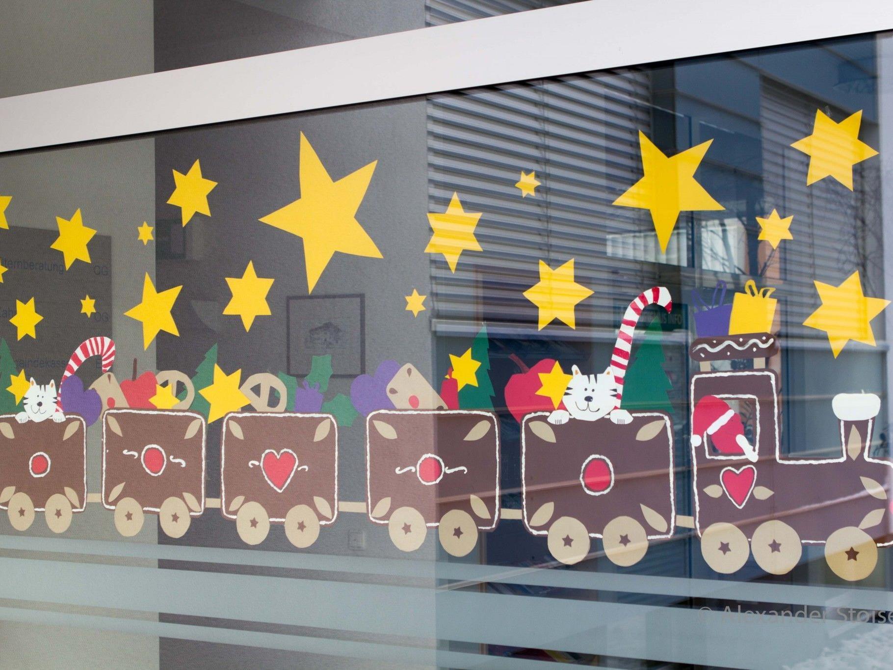 Das 9.Adventfenster vom Montafoner Adventskalender - gestaltet von der 3a der Volksschule Vandans.