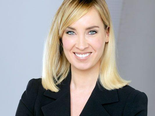 Nadja Bernhard präsentiert die ORF 2-Hauptnachrichten voraussichtlich ab Mitte Dezember gemeinsam mit Eugen Freund.